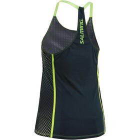 Salming Breeze Koszulka do biegania bez rękawów Kobiety zielony/niebieski